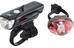 CatEye GVOLT25/Rapid1G - Kit éclairage vélo - EL360GRC/LD611G noir